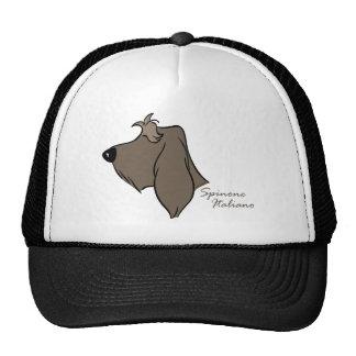 Spinone Italiano head silhouette Trucker Hat