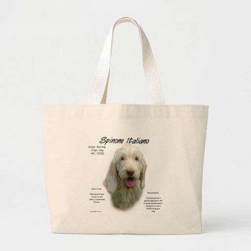 Spinone Italiano History Design Bag