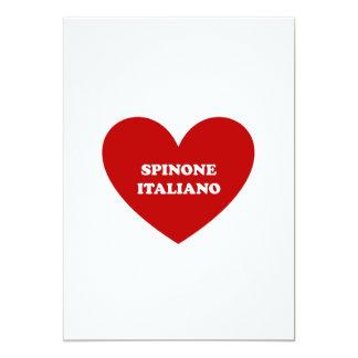 """Spinone Italiano Invitación 5"""" X 7"""""""