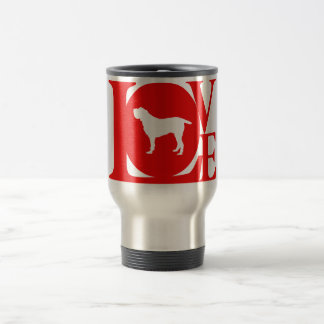 Spinone Italiano 15 Oz Stainless Steel Travel Mug