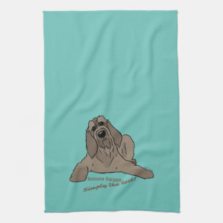 Spinone Italiano - Simply the best! Kitchen Towel