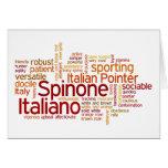 Spinone Italiano Tarjeta De Felicitación