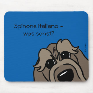Spinone Italiano - which otherwise? Mouse Pad