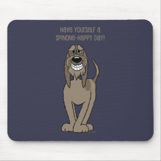 Spinone Smile Mouse Pad