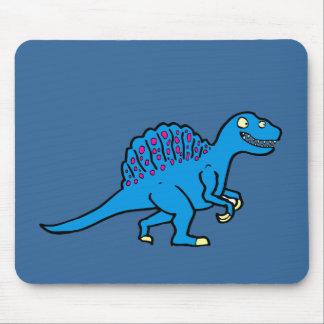 Spinosaurus azul alfombrillas de ratón