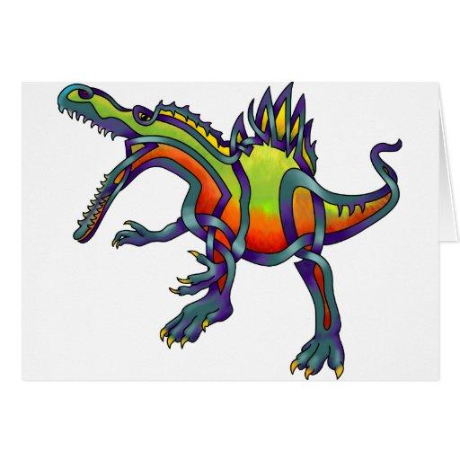 Spinosaurus Cards