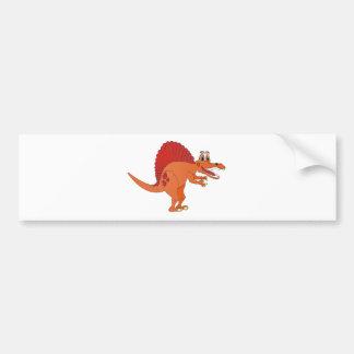 Spinosaurus Cartoon Bumper Stickers