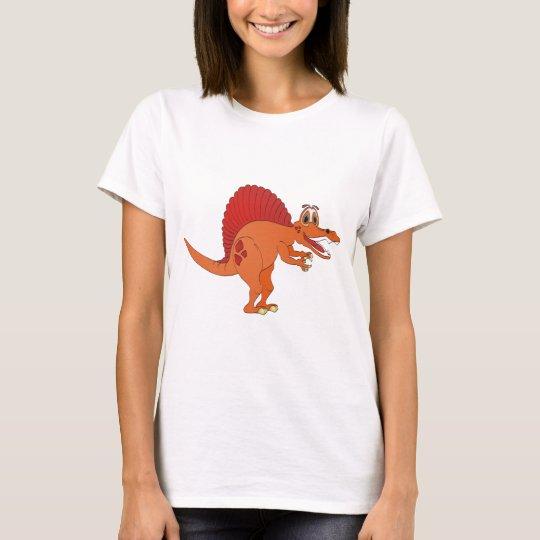 Spinosaurus Cartoon T-Shirt