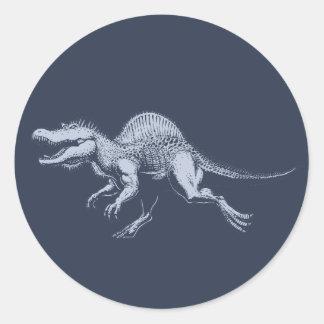 Spinosaurus Classic Round Sticker