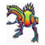 Spinosaurus Custom Letterhead