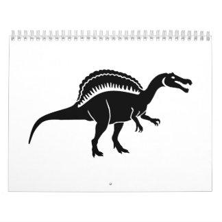 Spinosaurus dinosaur calendar