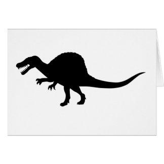 Spinosaurus Dinosaur Card
