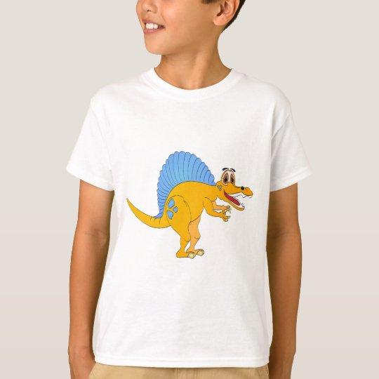 Spinosaurus Dinosaur Cartoon T-Shirt