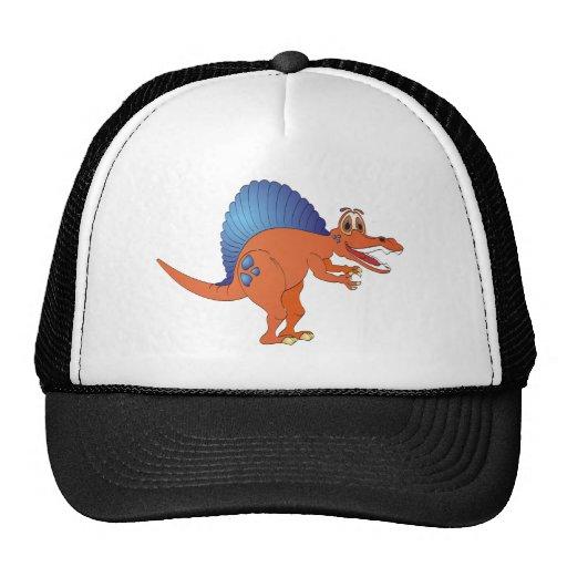 Spinosaurus Dinosaur Cartoon Trucker Hat