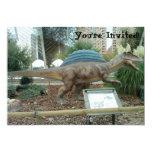 """Spinosaurus Dinosaur Invitation 5"""" X 7"""" Invitation Card"""