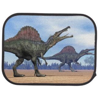 Spinosaurus dinosaurs walk - 3D render Car Floor Mat