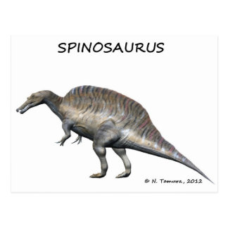 Spinosaurus Postal