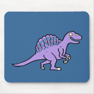 Spinosaurus púrpura mousepad