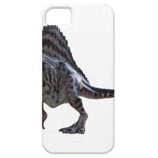 Spinosaurus que se pone en cuclillas y que mira a funda para iPhone SE/5/5s