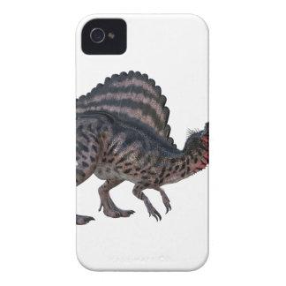 Spinosaurus que se pone en cuclillas y que parece funda para iPhone 4 de Case-Mate