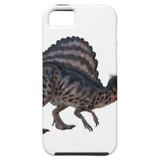 Spinosaurus que se pone en cuclillas y que parece funda para iPhone SE/5/5s