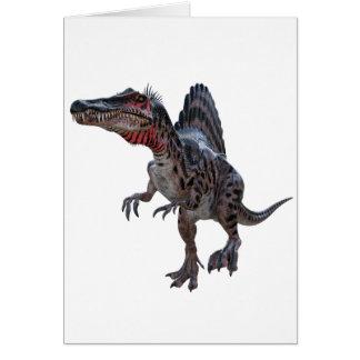 Spinosaurus Running Card