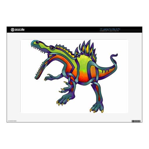 "Spinosaurus Skin For 15"" Laptop"