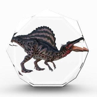 Spinosaurus Squatting and Looking Ferocious Acrylic Award