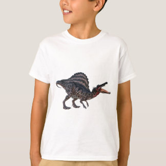 Spinosaurus Squatting and Looking Ferocious T-Shirt
