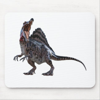Spinosaurus Squatting and Looking to the Left Mouse Pad