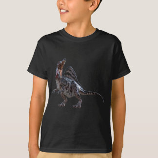 Spinosaurus Squatting and Looking to the Left T-Shirt