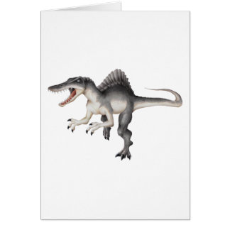 Spinosaurus Tarjeton