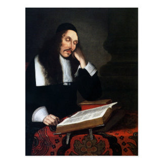 spinoza postcard