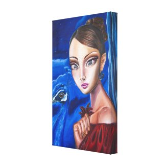 Spinster Snowhite Canvas Print