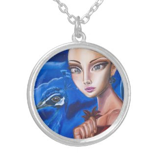 Spinster Snowhite Silver Plated Necklace