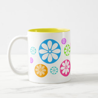 SPINWHEELS Two-Tone COFFEE MUG