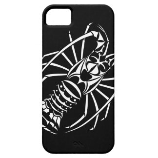 Spiny Lobster Cover in Black and White iPhone 5 Cover