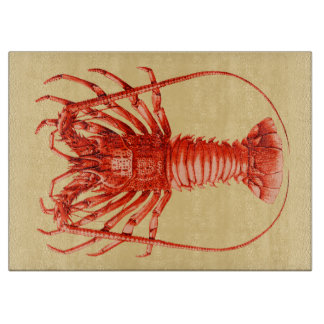 Spiny Lobster Cutting Board