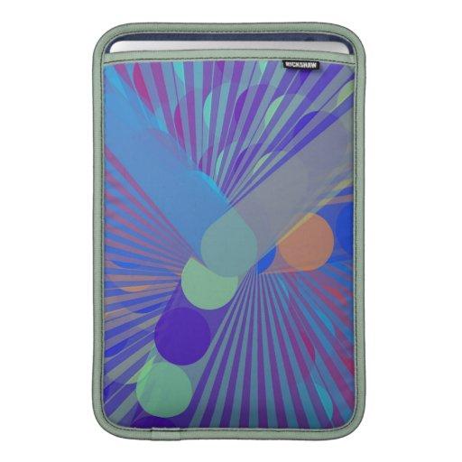 Spira-Extraño - extracto colorido Funda MacBook
