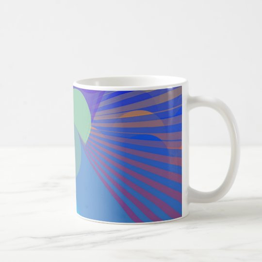Spira-Weird - Colorful Abstract Coffee Mug