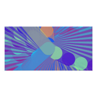Spira-Weird - Colorful Abstract Photo Card