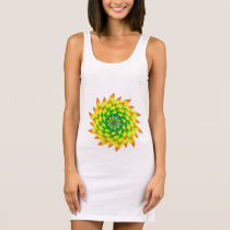 Spiral4 Sleeveless Dress