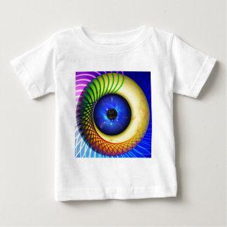 spiral-240131 FANTASY DIGITAL REALISM spiral, endl Baby T-Shirt