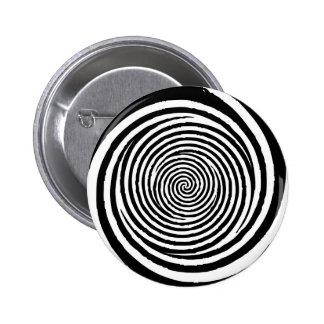 Spiral 2 Inch Round Button