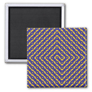 Spiral 2 Inch Square Magnet