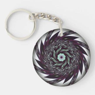 Spiral Acrylic Keychain