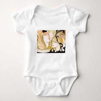 spiral baby bodysuit