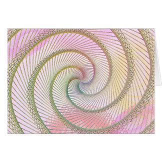 Spiral Beads Card