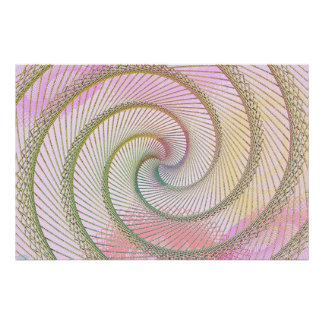 Spiral Beads Poster