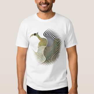 Spiral Bird Tee Shirt